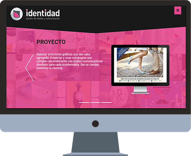 sitio web y blog identidad